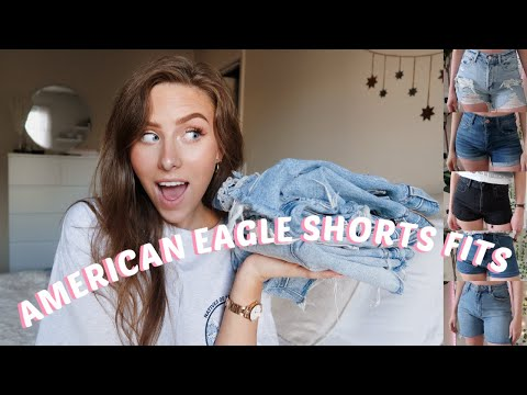 American Eagle 2020 Shorts Fits | Summer Shorts Guide | (semi- Try On)