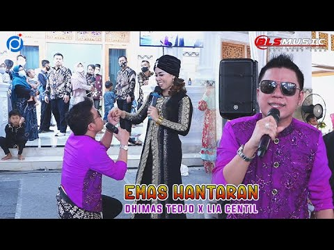 Download Emas Hantaran - Keren Banget Dhimas Tedjo Feat Lia Centil - BLS MUSIC & SOUND Live Gamping Sleman