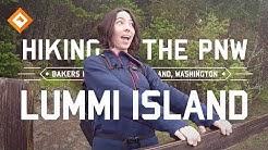 Hiking Washington - Lummi Island, Bakers Preserve