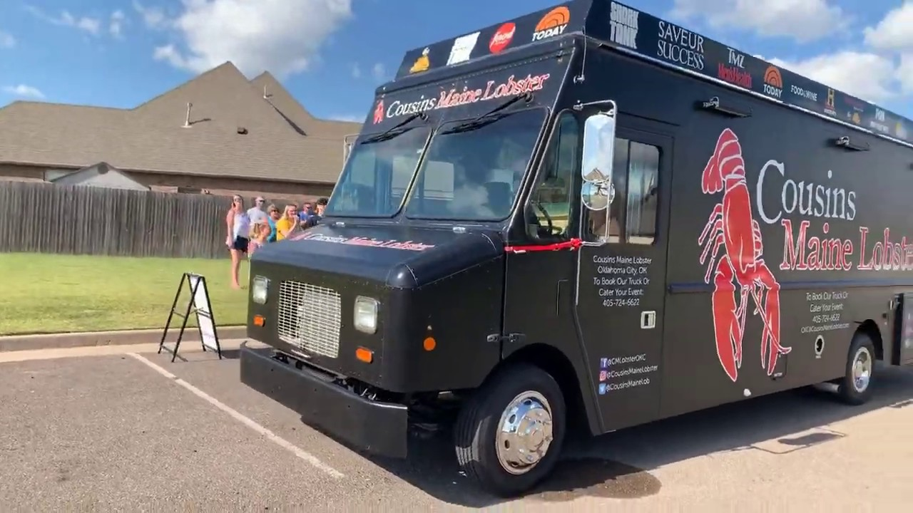 LOBSTER food truck madness! - YouTube