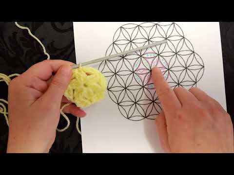 Flower of Life Crochet Tutorial