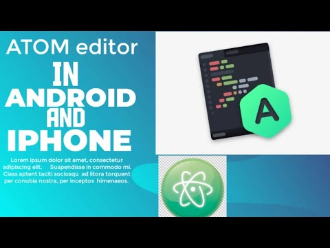 ATOM Editor For Android And Iphone||html  Css And JavaScript Editor