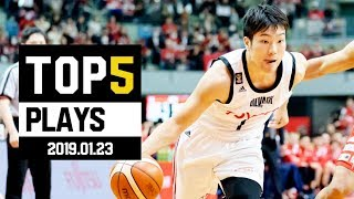 B.LEAGUE 2018-19 SEASON 第20節|BEST of TOUGH SHOT Weekly TOP5 presented by G-SHOCK プロバスケ(Bリーグ)
