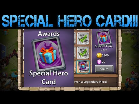 Special Hero Card On Amazon