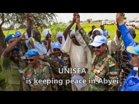 Keeping peace in Abyei