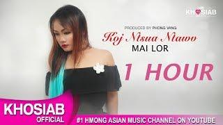 Mai Lor - Koj Ntshua Ntawv (Official Lyric Video) 1 HOUR