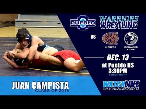 Pueblo Wrestling vs. Cienega & Ironwood Ridge