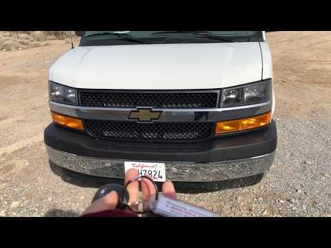 2019 Chevrolet Express 3500 review