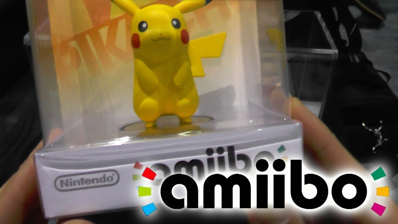 amiibo - Hands-On With Nintendo Figures & Target Packaging