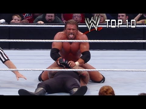 WWE Top 10 - (Almost) Streak Stoppers