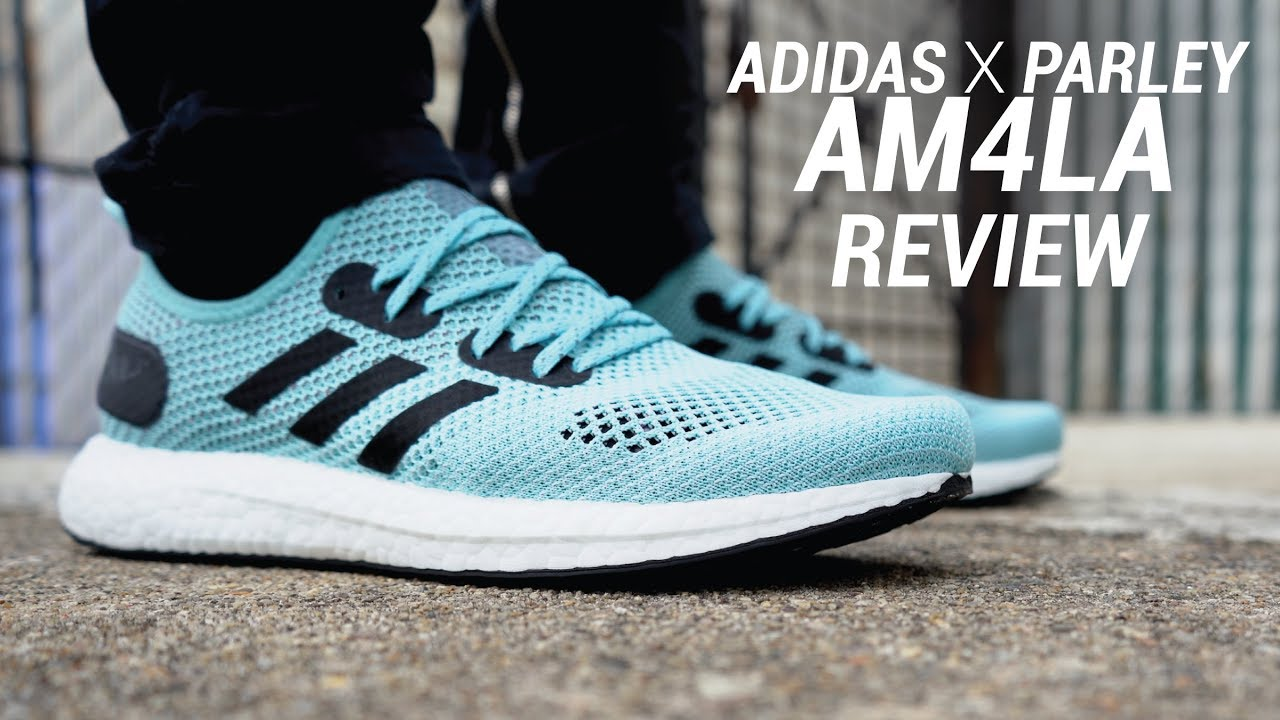 free shipping 26a8f 5558c ADIDAS X PARLEY AM4LA REVIEW