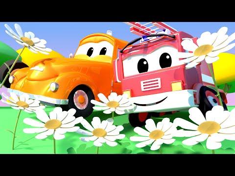 Tom la Grúa - Especial de Primavera - Bebe Franck tiene alergia - Auto City | Dibujos animados