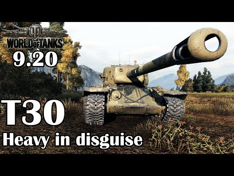 World of Tanks: T30 - Heavy in disguise