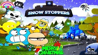 AMAZING WORLD OF GUMBALL: SNOW STOPPERS - MERRY CHRISTMAS (WINTER BREAK IN ELMORE) - CARTOON NETWORK
