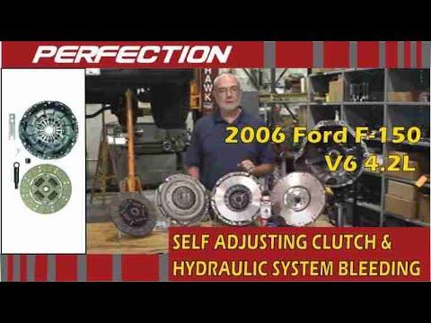 Ford F 150 4 2l Self Adjusting Clutch And Hydraulic System