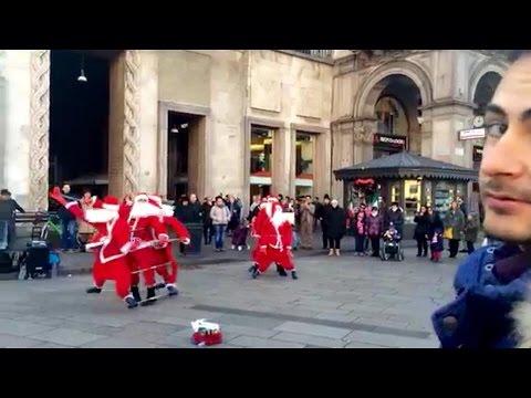 Christmas dance italia Milano Duomo
