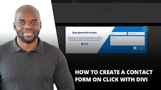 How to Create a Contact Form on Click with Divi