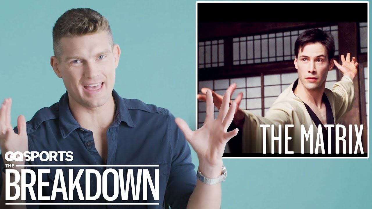 Karate Expert Stephen Thompson Breaks Down Martial Arts Scenes from Movies | GQ Sports