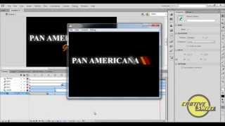 How to create an Animated logo in Adobe Flash CS6
