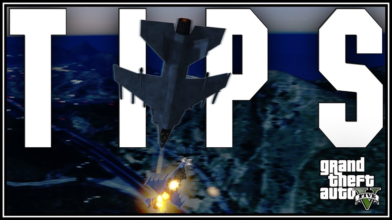 Hydra Tips & Tricks (Hovering/Backwards quick & easy) GTA Online