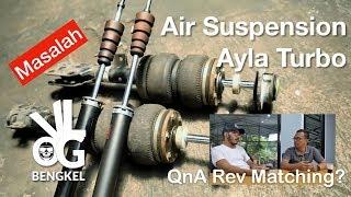 Air Suspension Ayla Turbo   VLOG BENGKEL #22