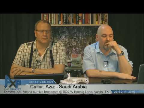 Does Every Religion Cause Extremists | Aziz - Saudia Arabia | Atheist Experience 20.06