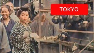 [60 fps] Views of Tokyo, Japan, 1913-1915