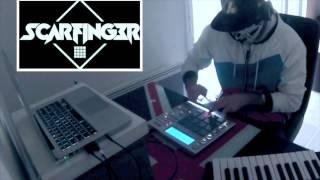 Skrillex - MPC Studio - Ruffneck VIP (the strangestickedit) - Scarfinger - Live/Freestyle
