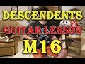 """How to Play """"M16"""" by the Descendents on Guitar"""