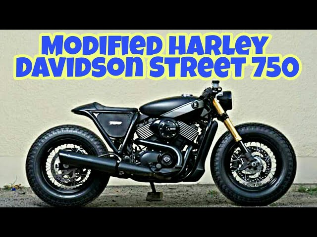 Modified Harley Davidson Street 750 By Rajputana Customs Motorcycles |