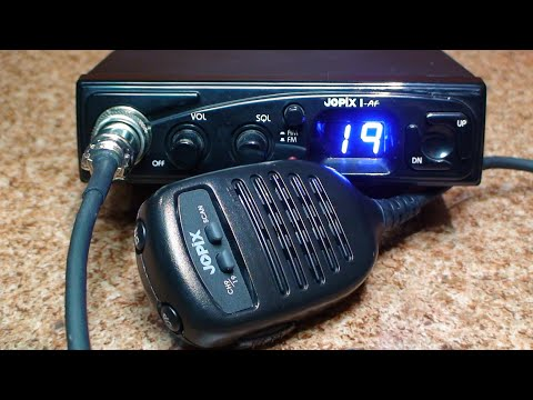 Jopix 1 AF - Zanim kupisz cb radio - Test # 54 & Tuning