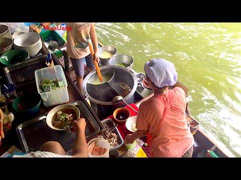 Boat Noodle - Street Food The river Floating Market