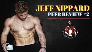 Zapętlaj JEFF NIPPARD: Youtube Fitness Peer Review #2 | Shredded Sports Science