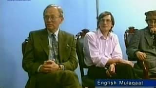 English Mulaqaat (Meeting) on June 18, 1995 with Hazrat Mirza Tahir Ahmad (rh)