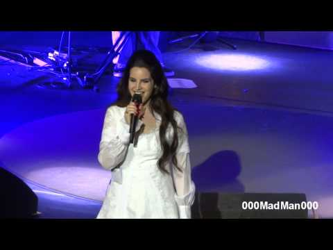 Lana Del Rey - Without You - HD Live at Olympia, Paris (27 April 2013)