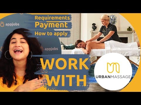 ARE YOU A MASSAGE THERAPIST? 🖐️ GET A JOB WITH URBAN MASSAGE! | AppJobs.com