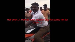 KTM பைக் வைத்து இருந்தால் தவறா? Bikes pulled over by Chennai Traffic Police|விதி மீறிய காவலர்