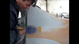 Шлифование грунта под покраску (правильный процесс)(Шлифуем грунт