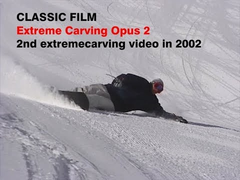 Extreme Carving Opus 2 High Quality Snowboard Carving Technique