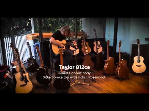 Taylor 800 Series acoustic comparison