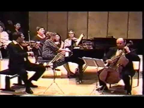 Tchaikovsky Piano Trio: Nikolaj Znaider, Bella Davidovich, Misha Quint (Part 1)