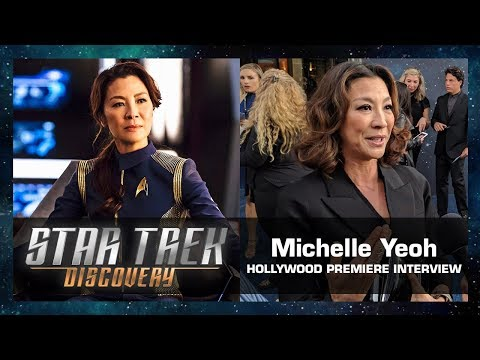 Michelle Yeoh Interview - Star Trek: Discovery Hollywood Premiere (Sept. 19, 2017)