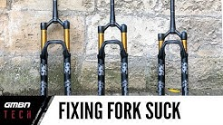 How To Fix Fork Suck Down On Your Mountain Bike Suspension Fork