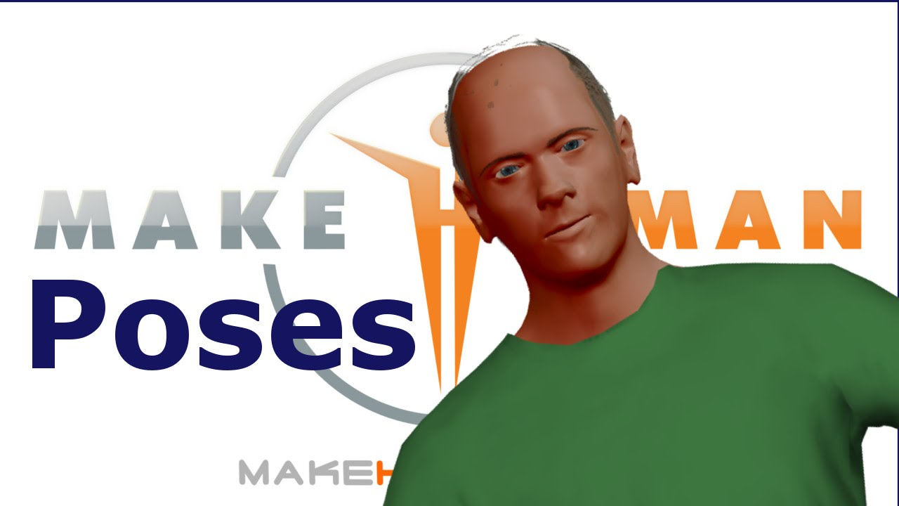 Export your own MakeHuman pose from Blender