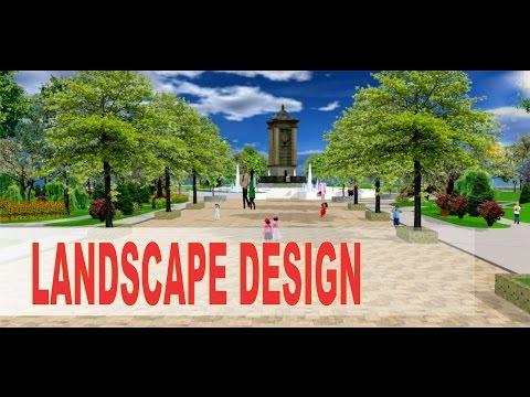 LANDSCAPE DESIGN PARK, HAPPY GARDEN