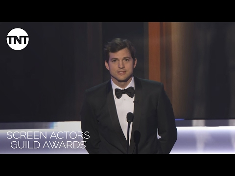 Ashton Kutcher: Opening Monologue | 23rd Annual SAG Awards | TNT