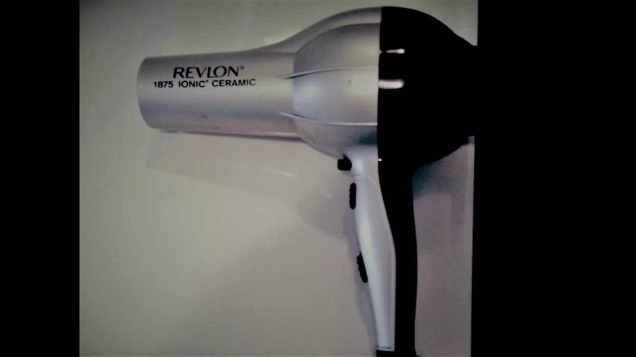 ASMR 1 hour Revlon 1875 Ionic Ceramic Hair Blower Dryer Sounds ...