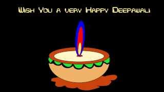 Animated Happy Diwali greeting card  2017/ wishes and greetings for Diwali