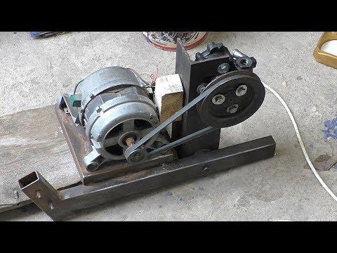 Двигатель от стиральной машины и насос гур BMW