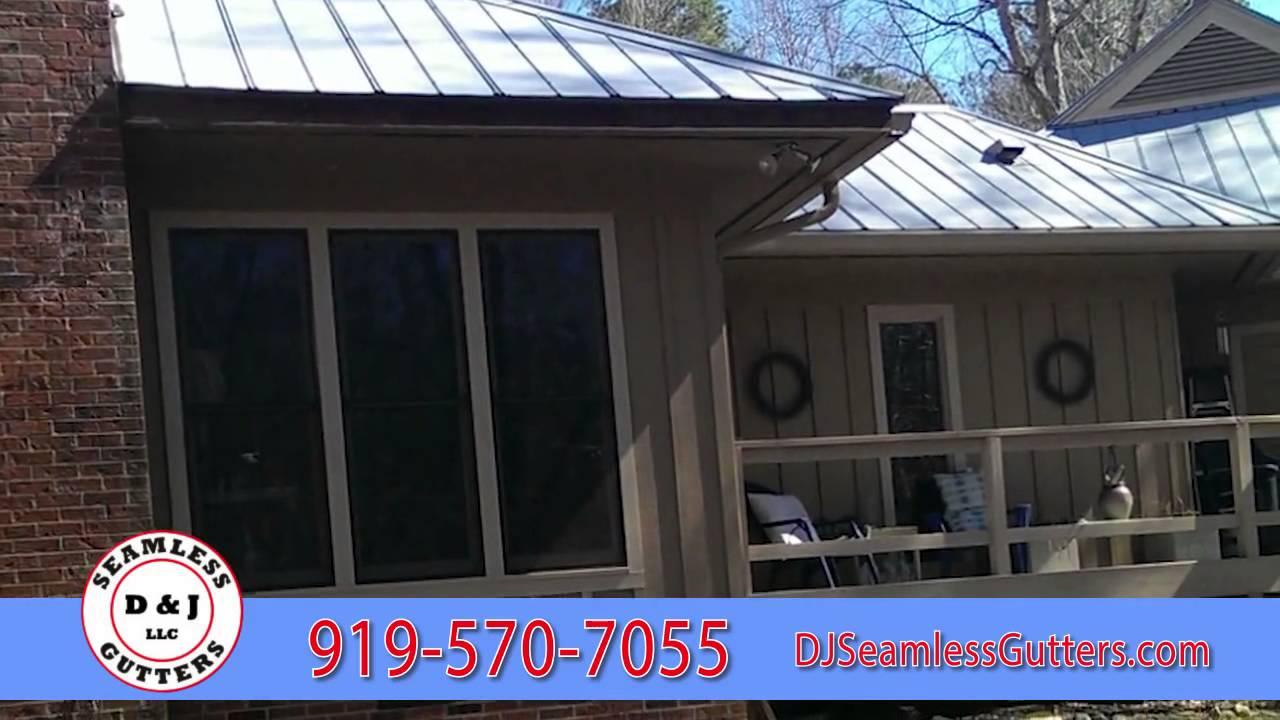 D J Seamless Gutters High Quality Gutter Downspout Installation Maintenance In Raleigh Nc